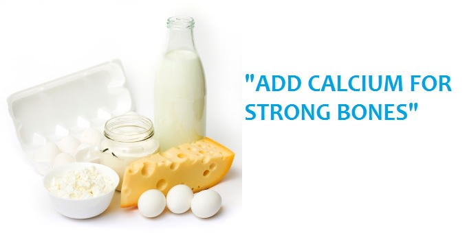 CALCIUM FOR STRONG BONES